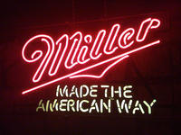 Miller beer products are made in America